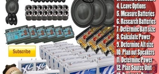 Steps to Great Car Audio Sound