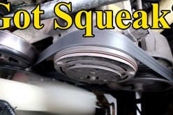 How to Fix a Squeaky Belt (figure out where the squeak is coming from)
