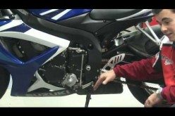 Motorbike Upkeep & Components : How to Set the Gear Shift Lever on a Motorbike