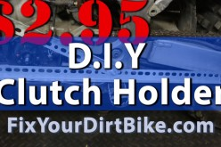 D.I.Y. Clutch Holder Software | Deal with Your Dirt Bicycle.com