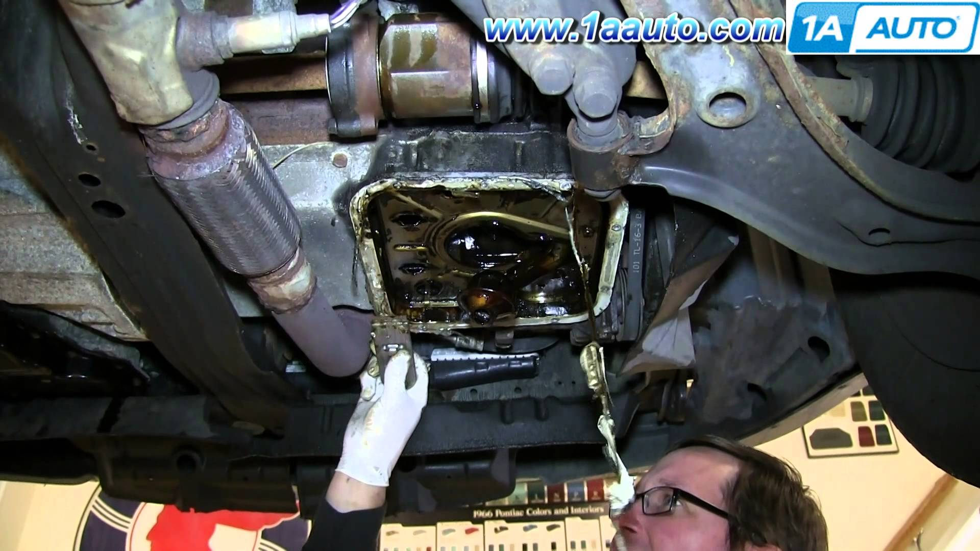 how to substitute oil pan gasket repair oil leak 1998 01 nissan altima automobile how to guide. Black Bedroom Furniture Sets. Home Design Ideas