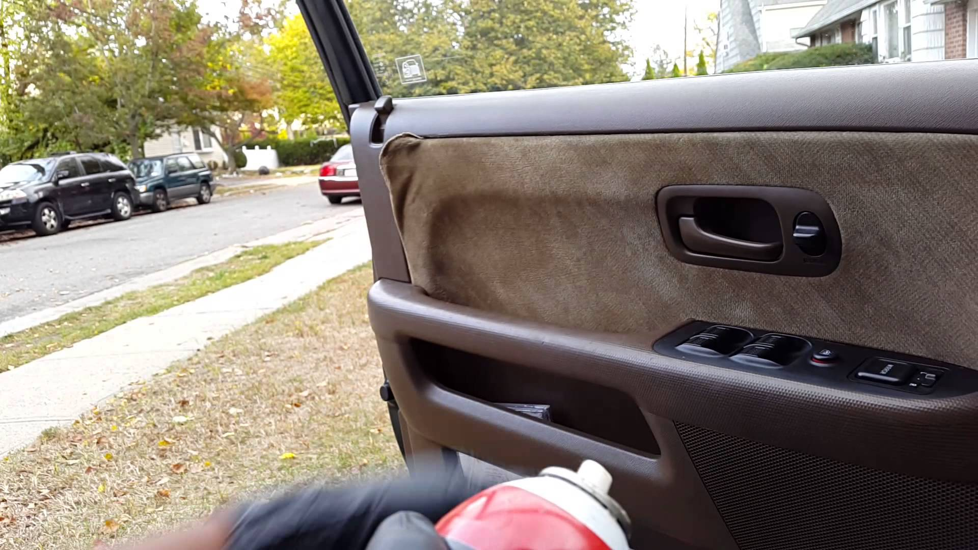 how to restore loose auto door panel upholstery swift repair automobile how to guide. Black Bedroom Furniture Sets. Home Design Ideas