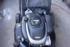 How to fix a gas lawnmower that starts then dies