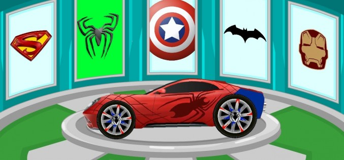 Spiderman's Cartoon Automobile! Exciting Race – Automobile Clean & Resolve – Online video For Children and Small children