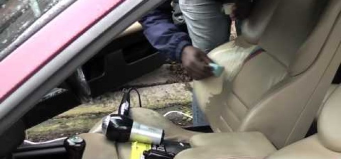 DCG1: How to fix a leather car or truck seat rip/gap on an E36 BMW M3 Evolution